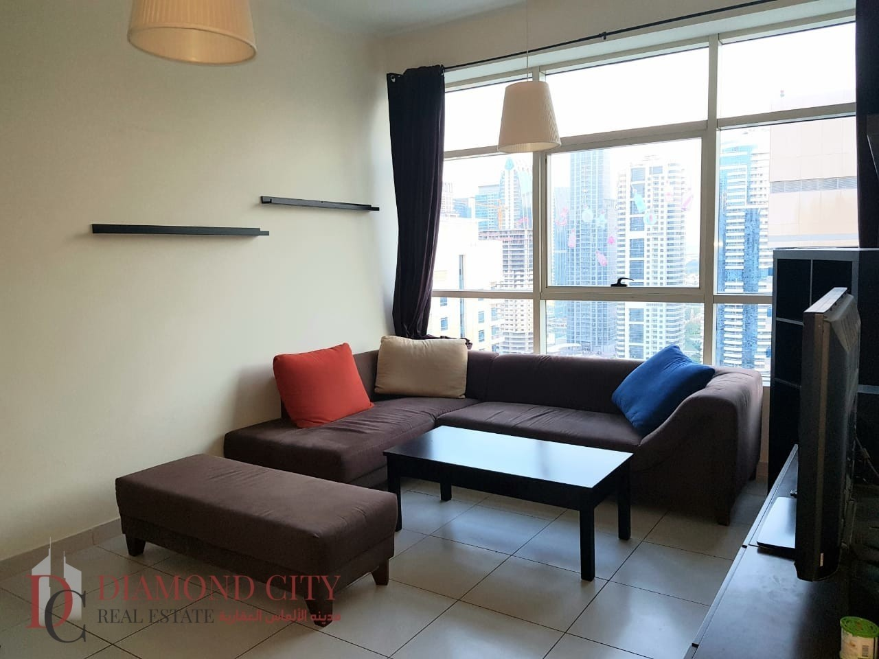 Fully Furnished * Good views  * High floor