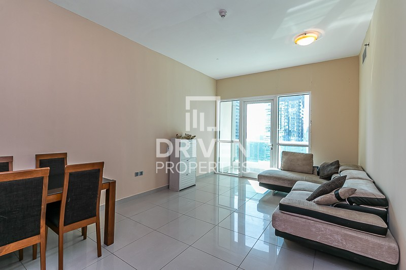 Furnished Unit with Stunning Marina View
