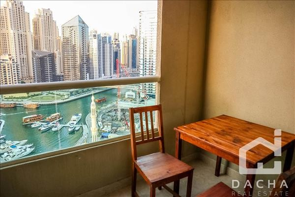 Furnished 1Br Apartment  / Marina View