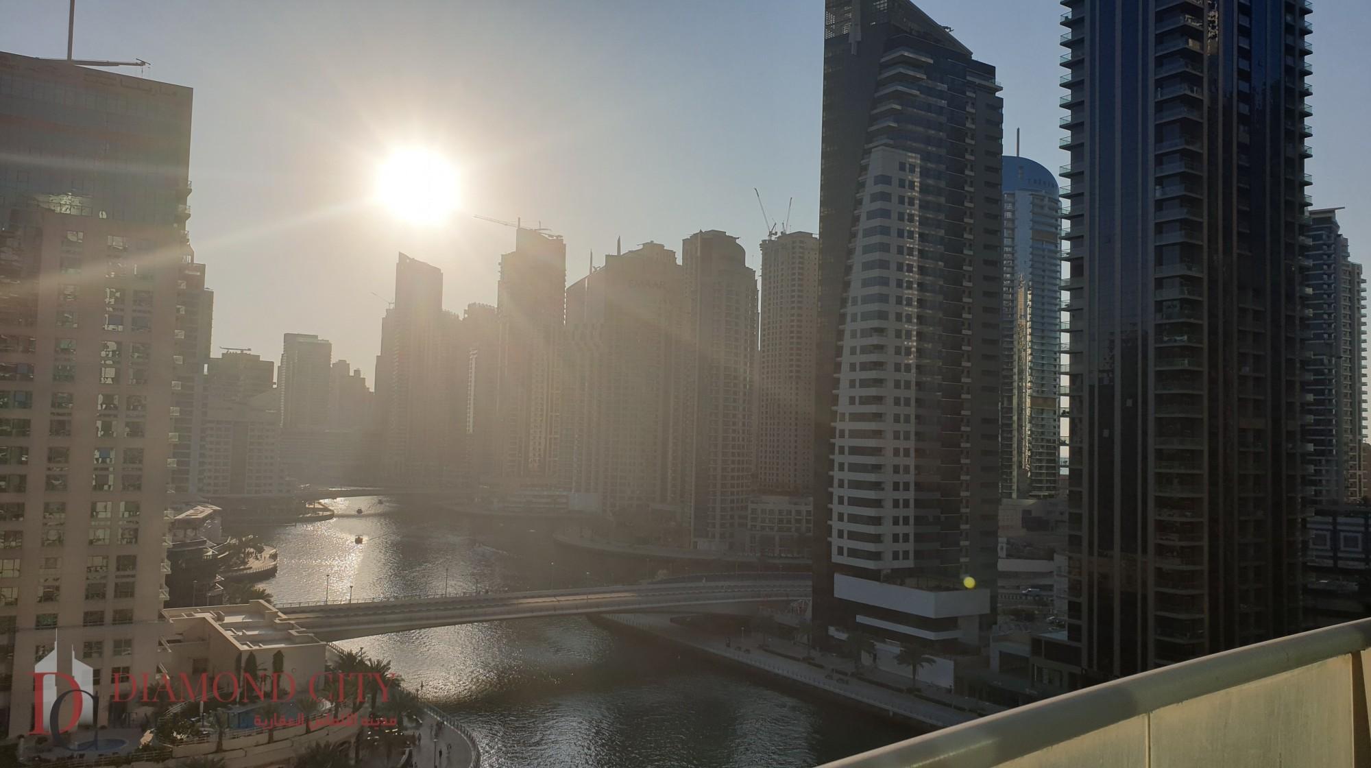 Large Balcony | Views of Dubai Marina