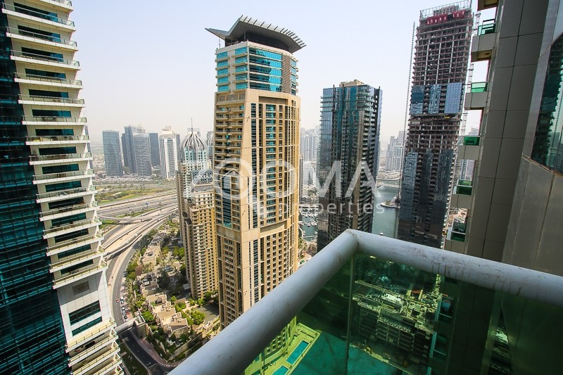 2BR with Stunning Marina View|High Floor
