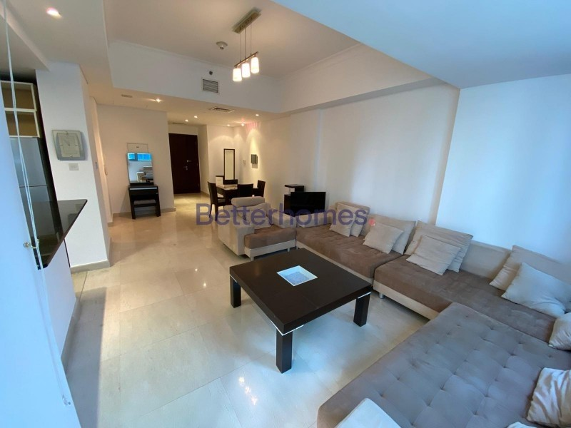Fully Furnished I Low Floor I Partial  Marina View