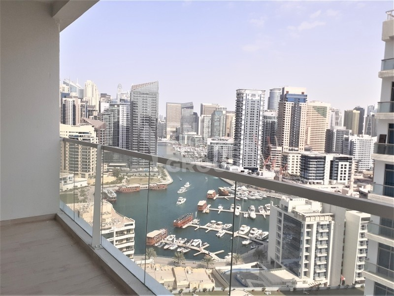 New, partial marina view, mid floor, good returns