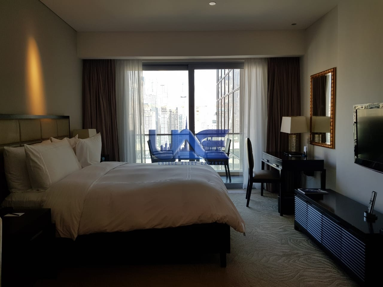 Full Marina View , Furnished Studio Apartment, Dubai Marina