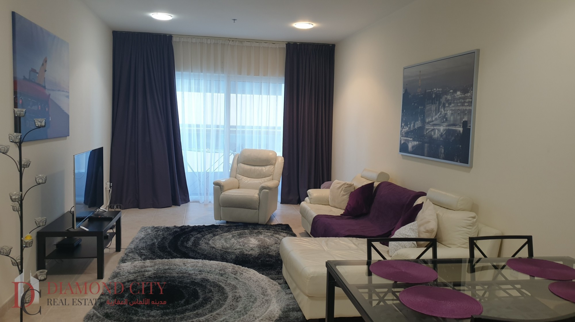 High Floor | Partial Sea View | Furnished