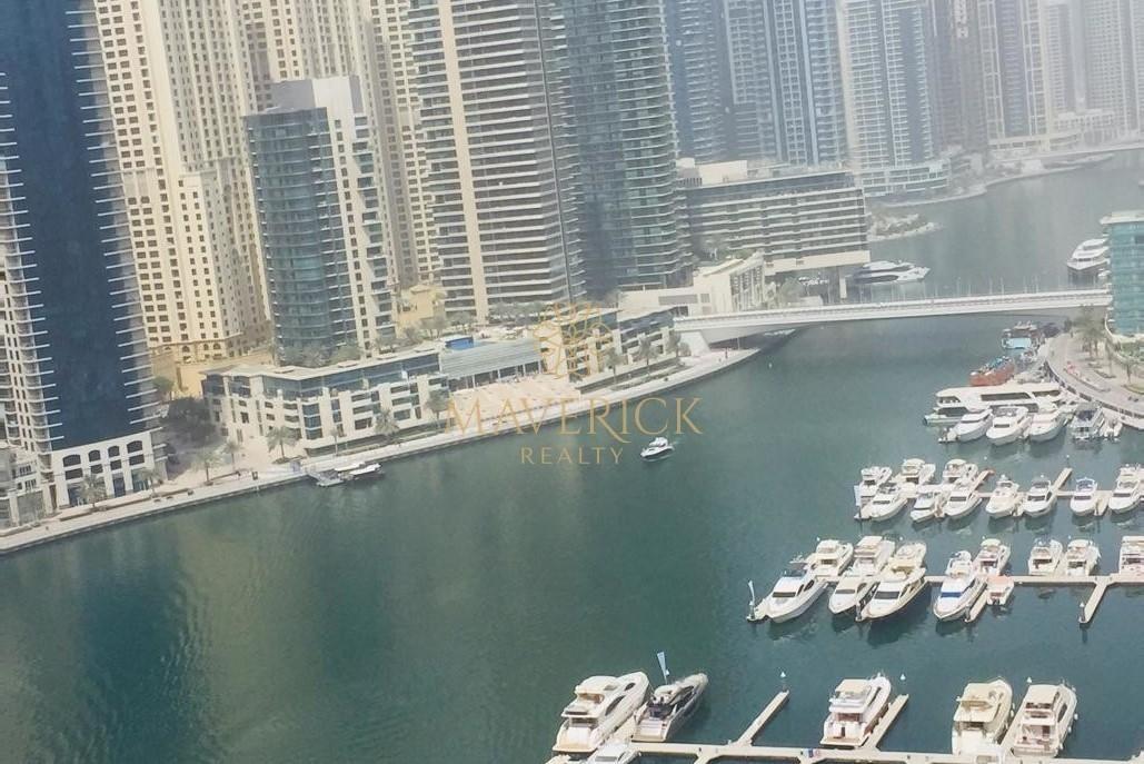 Furnished 3BHK | Full Marina View | Dubai Marina