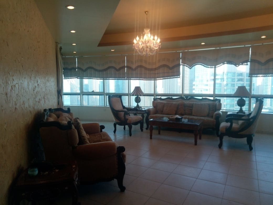 Fully Furnished | 4 BR Maid Room/High Floor