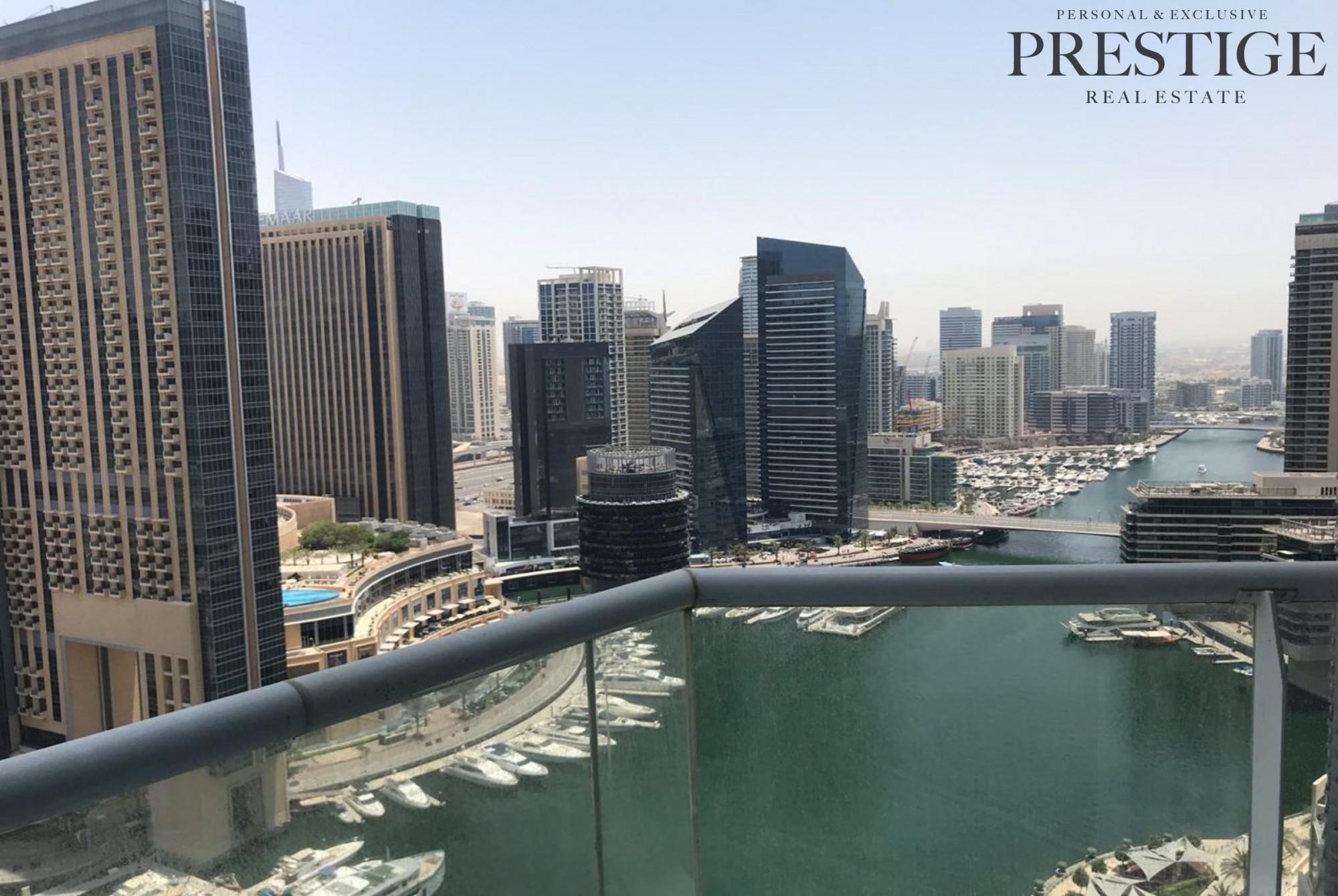 Marina View | Vacant | High Floor 2 Bed Apartment