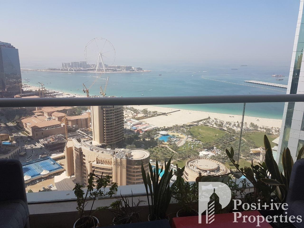Bluewaters & Sea View + High Floor + 1 Bedroom