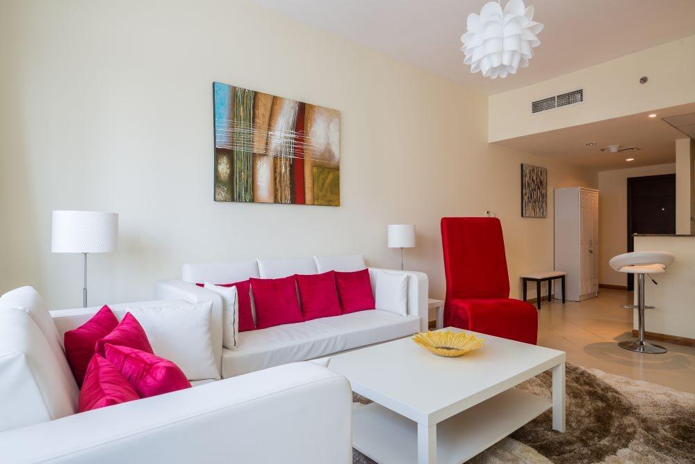 Fully furnished, beautiful 1-Bedroom in Marina Diamond 3