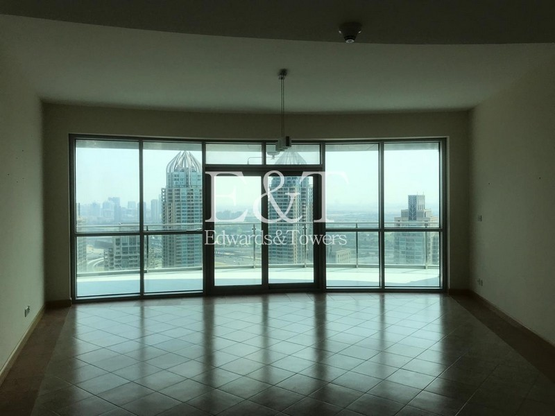 A High Floor 2 BR with Full Marina View, DM