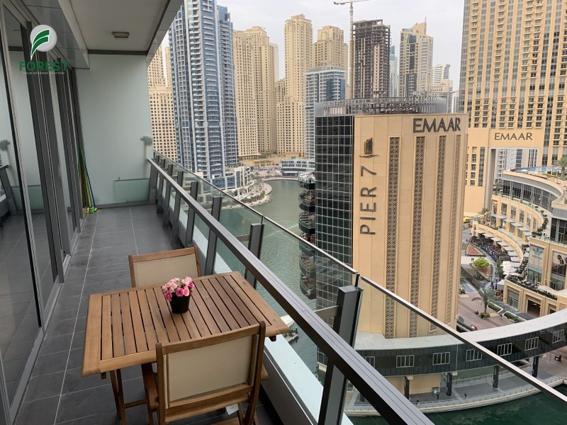 Brand New Fully Furnished 2BR with Marina View