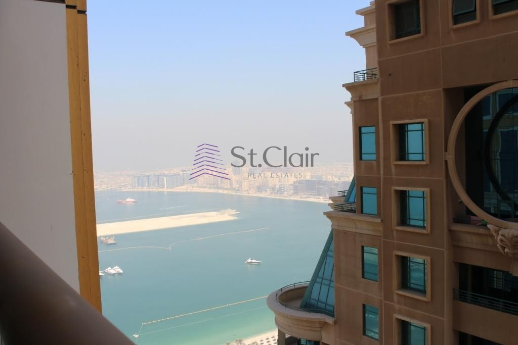 P. Sea View 2BR High Floor Equipped Kitchen