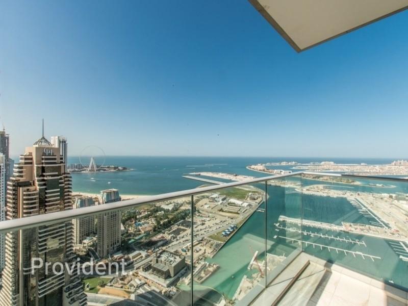 Stunning Sea View | High Floor Fendi | Rented