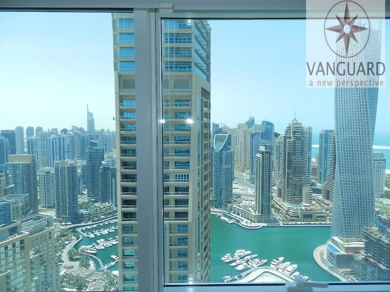 Huge 1 Bedroom Apartment with Sea View in Dubai Marina