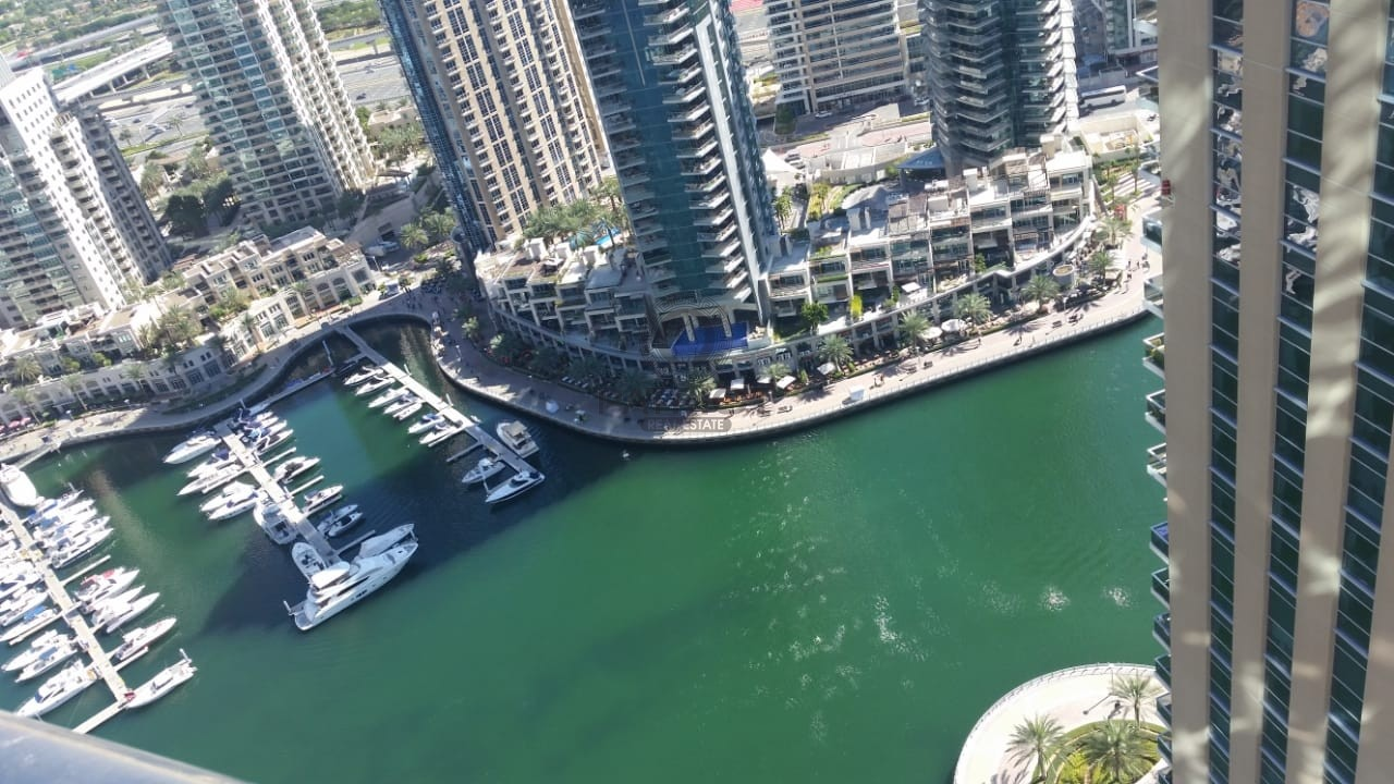 Amazing Full Marina view 3BR in Dubai Marina