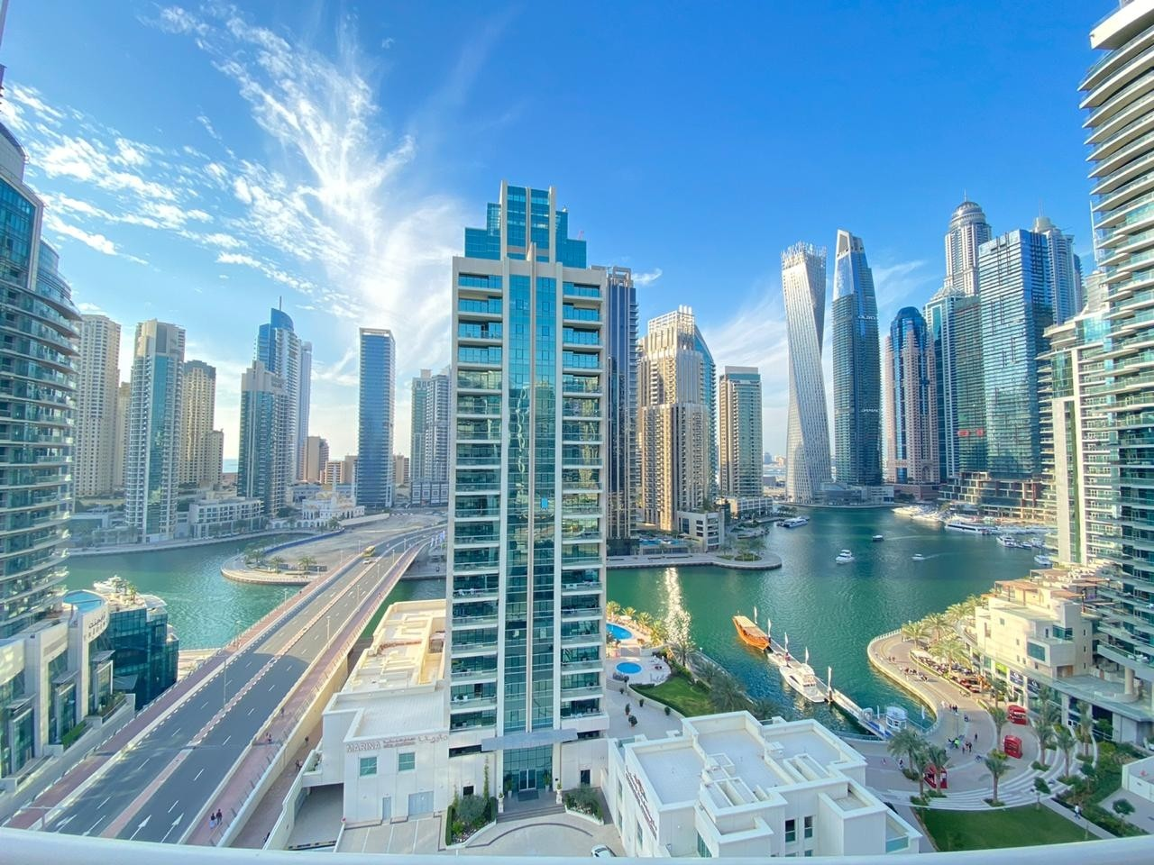 2Bed furnished unit with marina view | SO