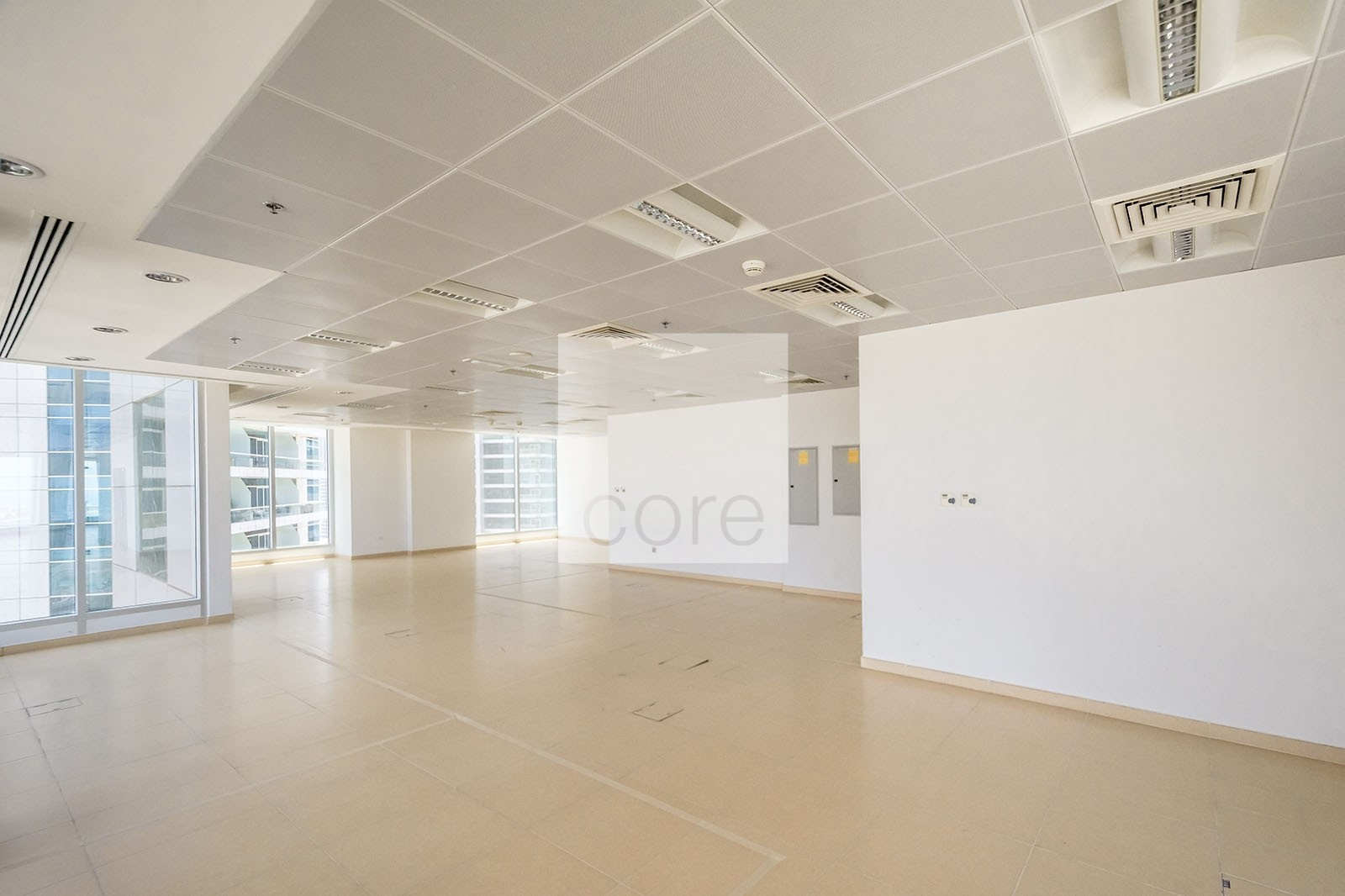 Combined fitted office floor I Low Floor