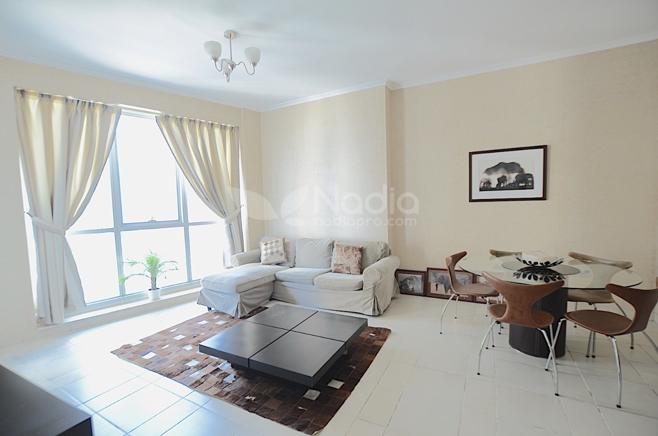 Modern Furnished 1 BR | Torch Tower | Dubai Marina