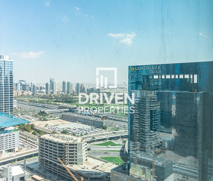 Furnished | High Floor Lvl | Marina View
