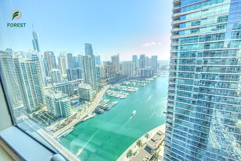 Furnished 1 Bedroom with Full Marina View