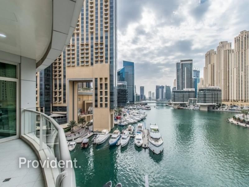 Captivating with Stunning Full Marina View