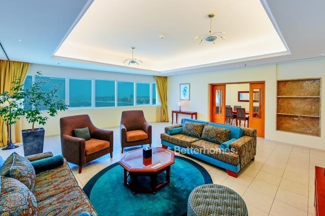 Sea View Furnished 3 Bed in Tamani Hotel Apartment