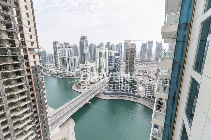 Vacant Unit on High Floor   Marina Views