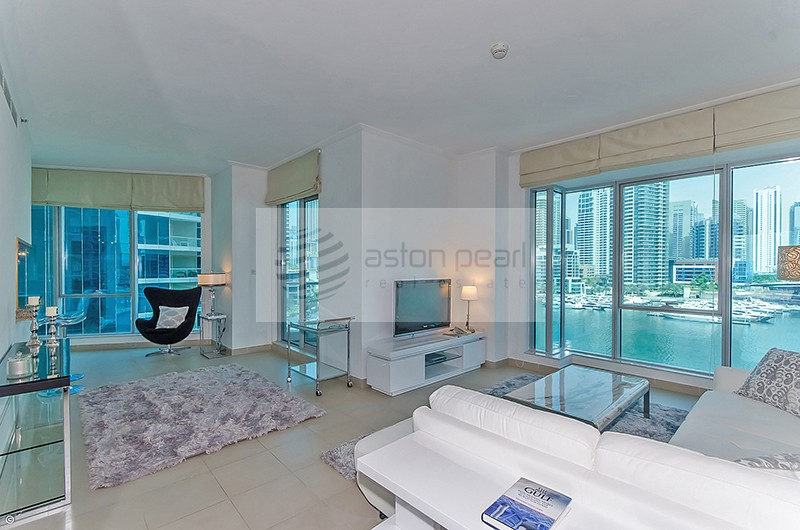 Luxuriouly Furnished 2BR, Full Marina View, Vacant