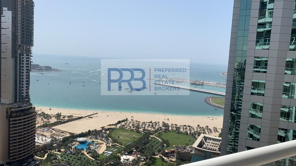 Full Sea View/Fully Furnished , 1 Br in Botanica Tower for Rent