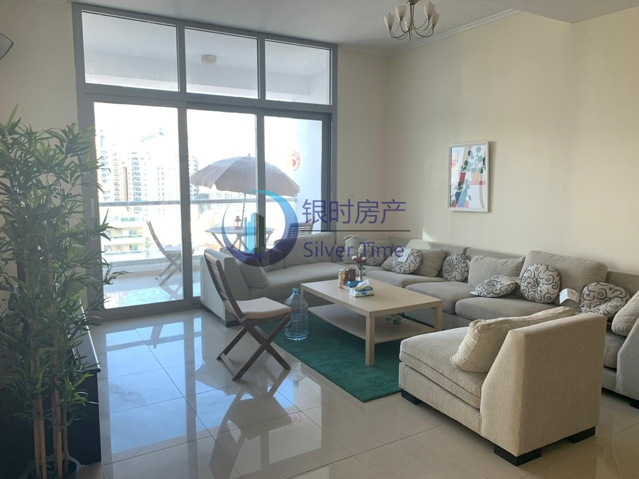 Marina View /Fully Furnished/2 bedroom for rent.
