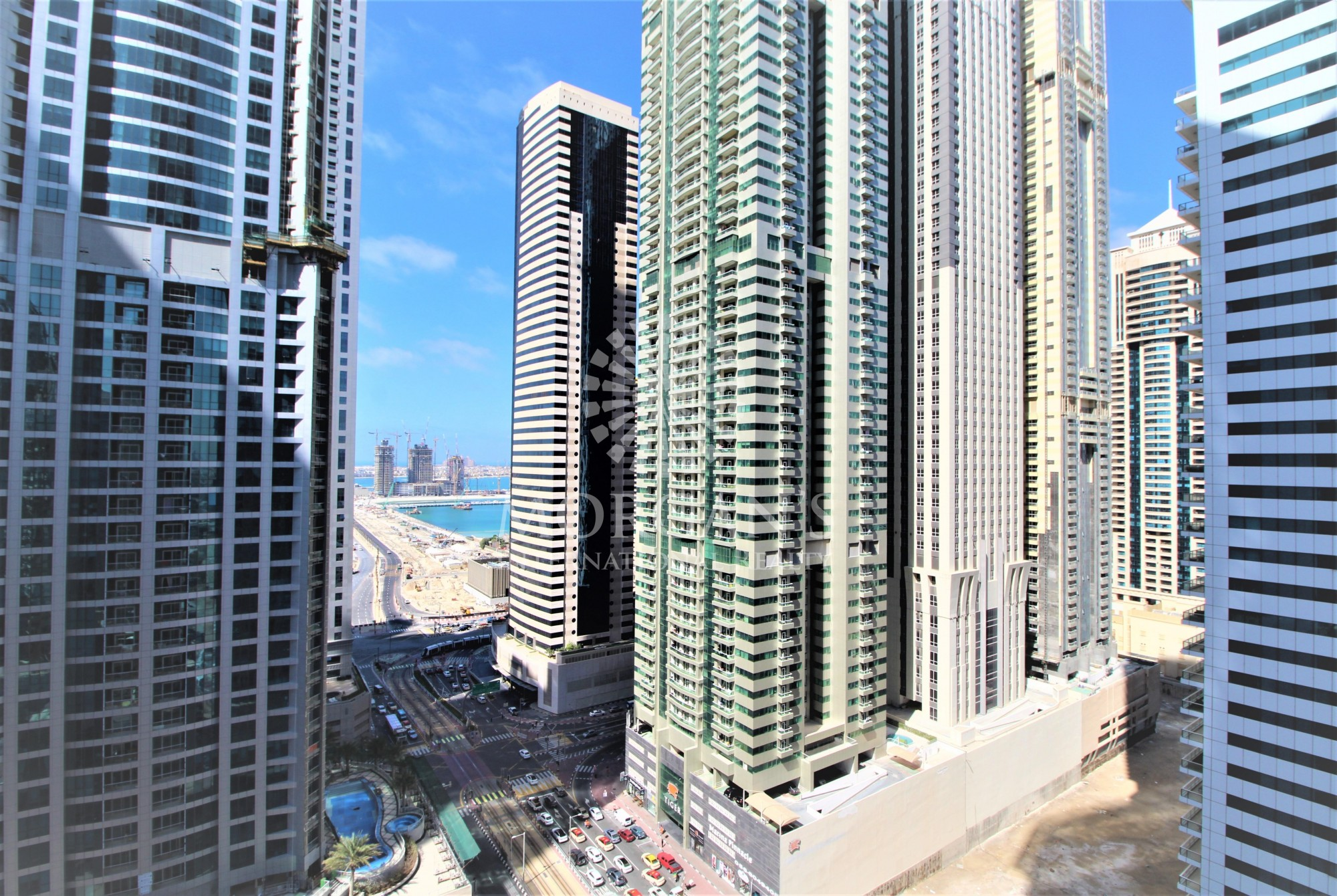Partial Sea View | 1BR high floor | Vacant