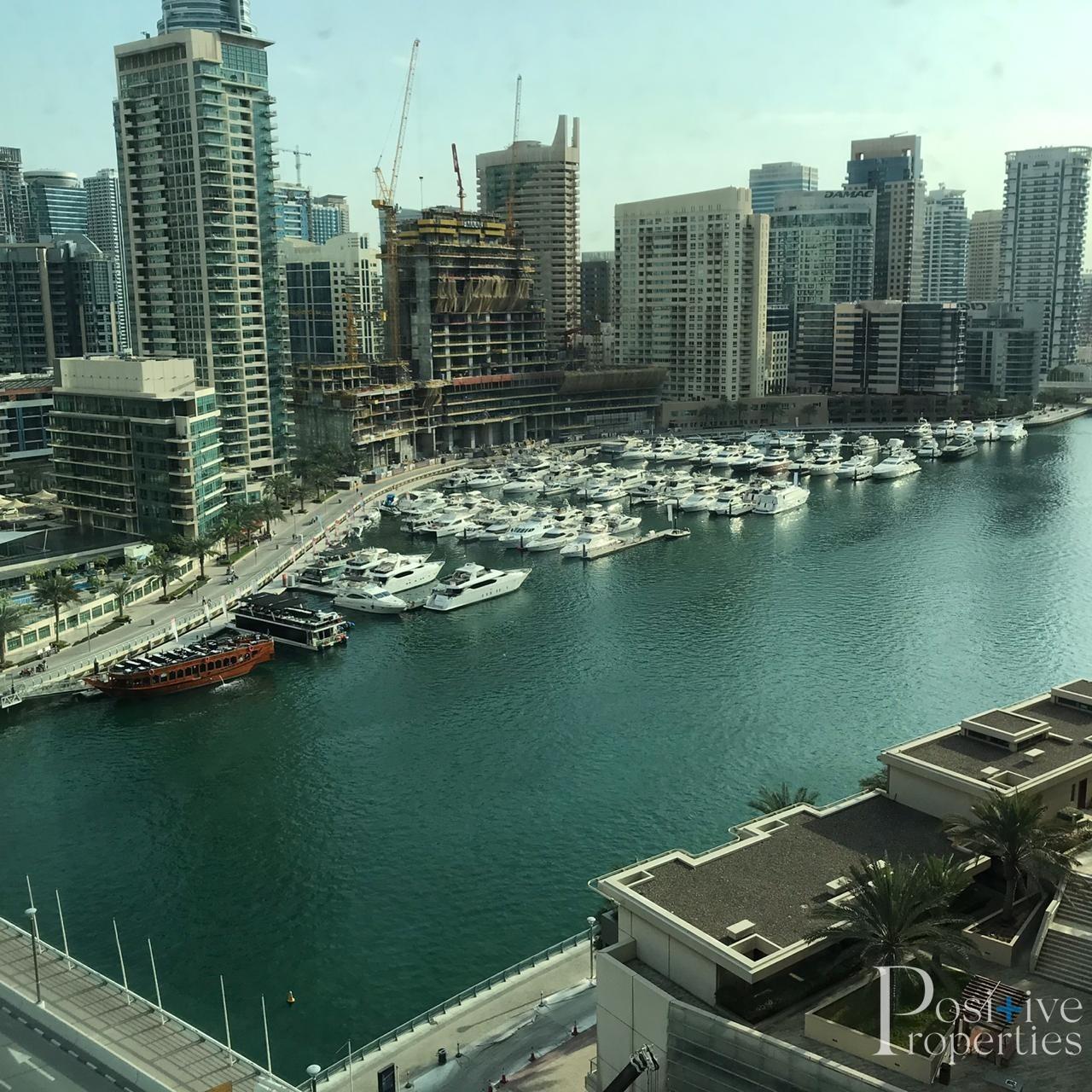 Full Marina View / Prime Location / Vacant