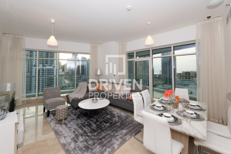 Furnished & Huge Apt | Full Marina Views