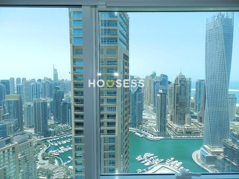 Vacant | 1 Bed | High floor | Marina views