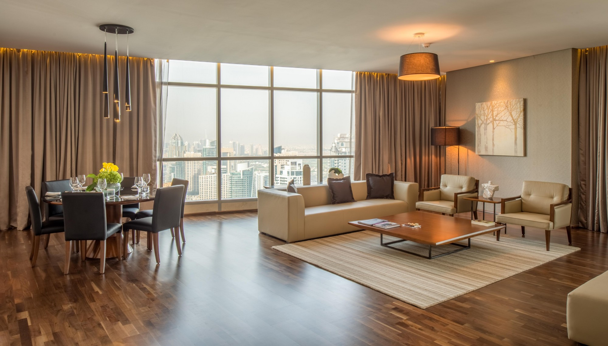 Spacious and Beautiful Four-Bedroom Penthouse