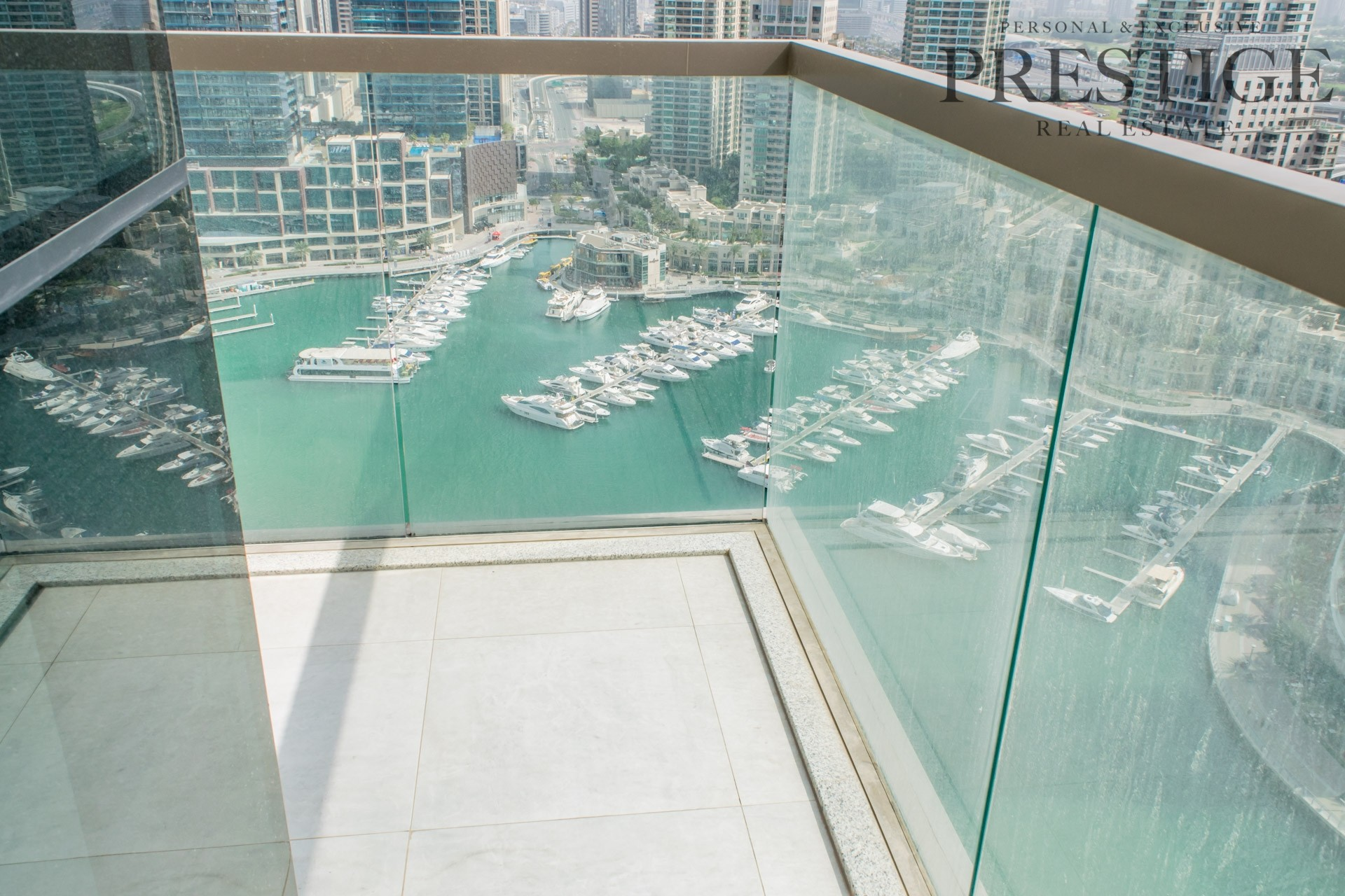 Only Available  3 Bedroom with Full Marina View