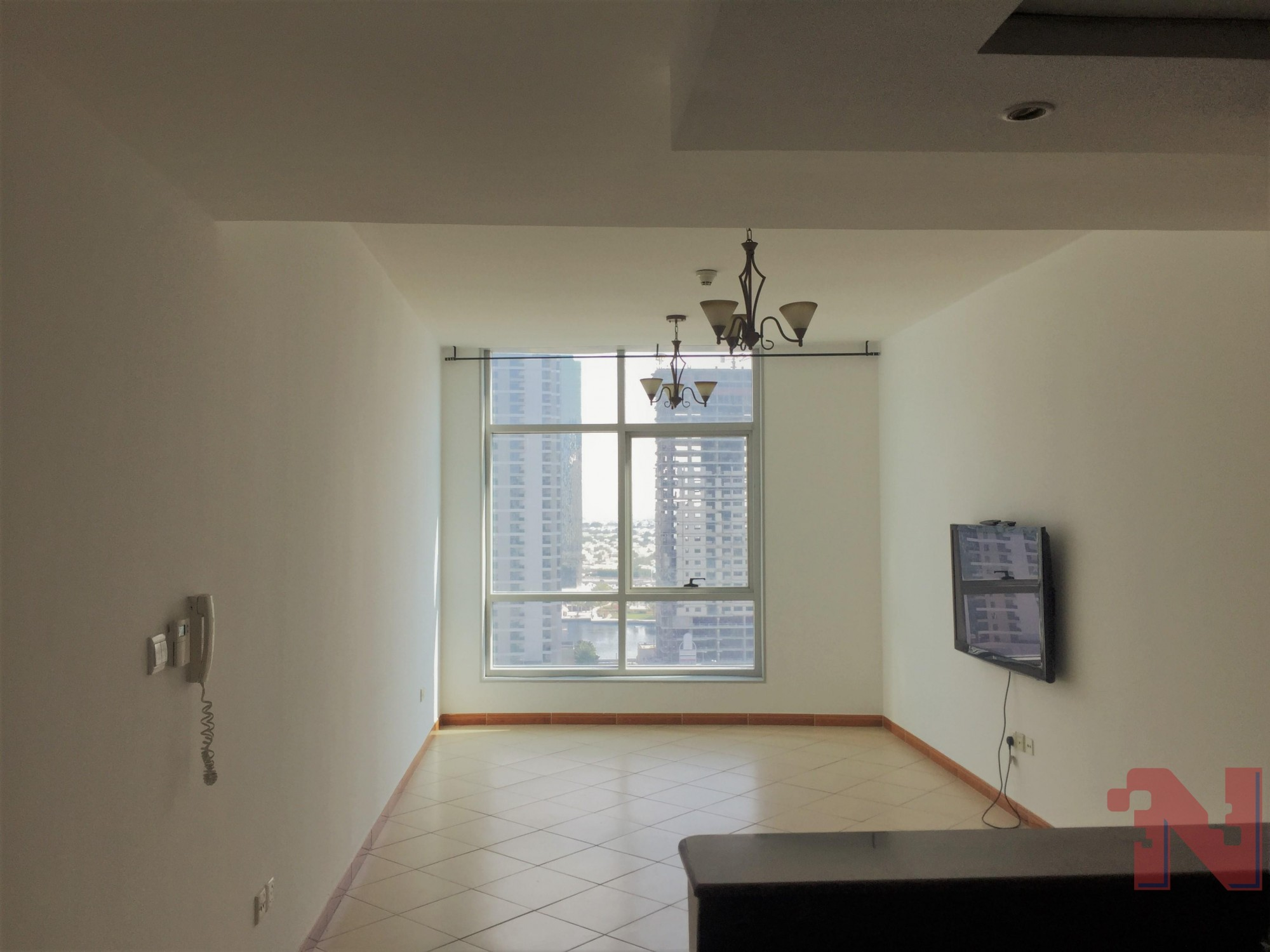 Prime Location with Great View,  1 BHK    1 Month Free   Free Chiller   Free Maintenance