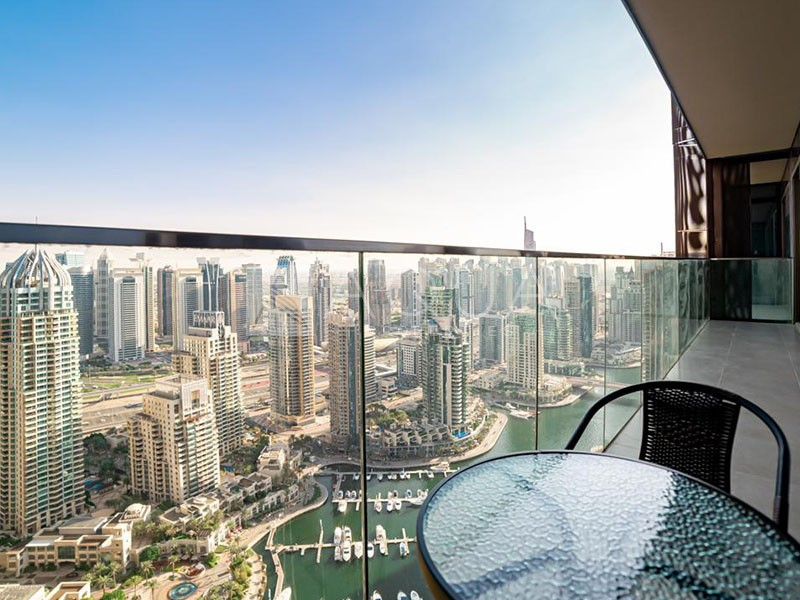 Fully Furnished | Full Marina View on High Floor