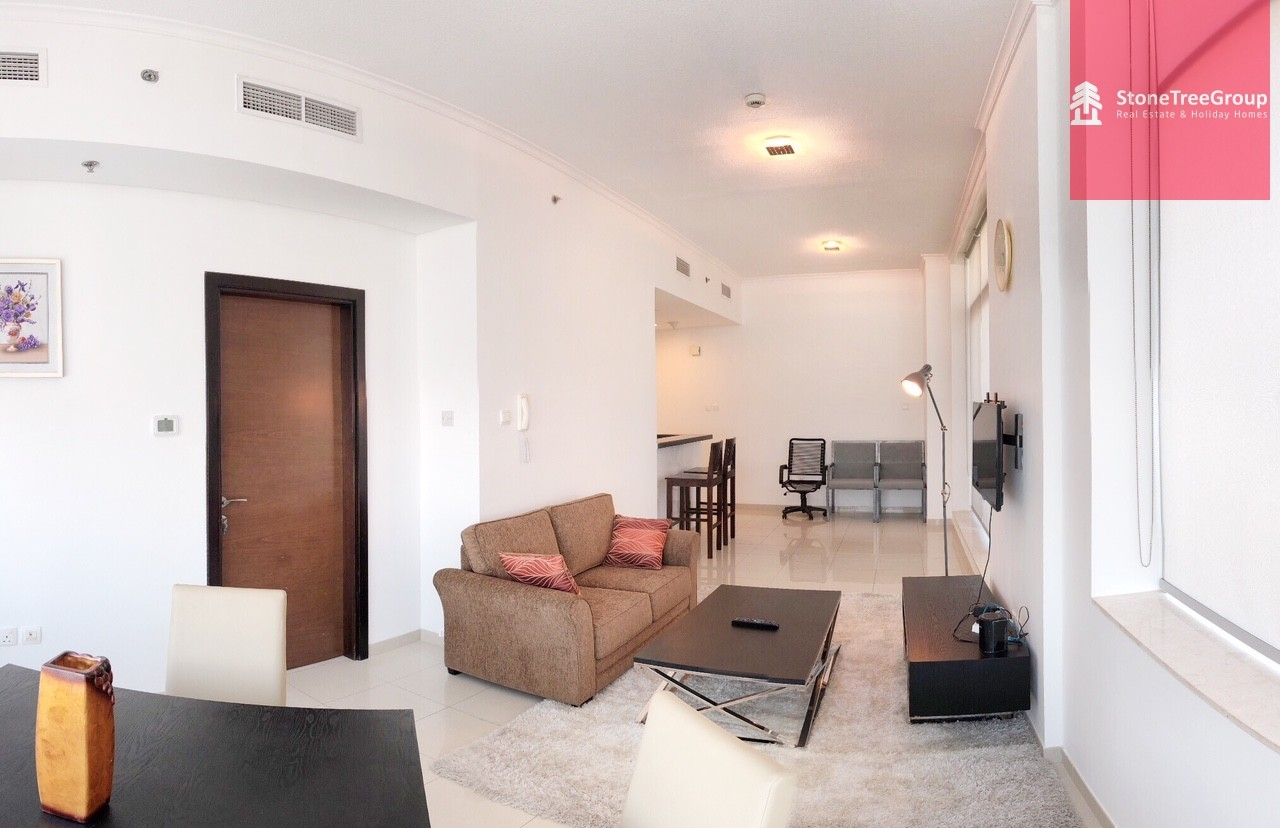 12 Cheques! 1 BR in  Botanica Tower | FREE CANCELLATION
