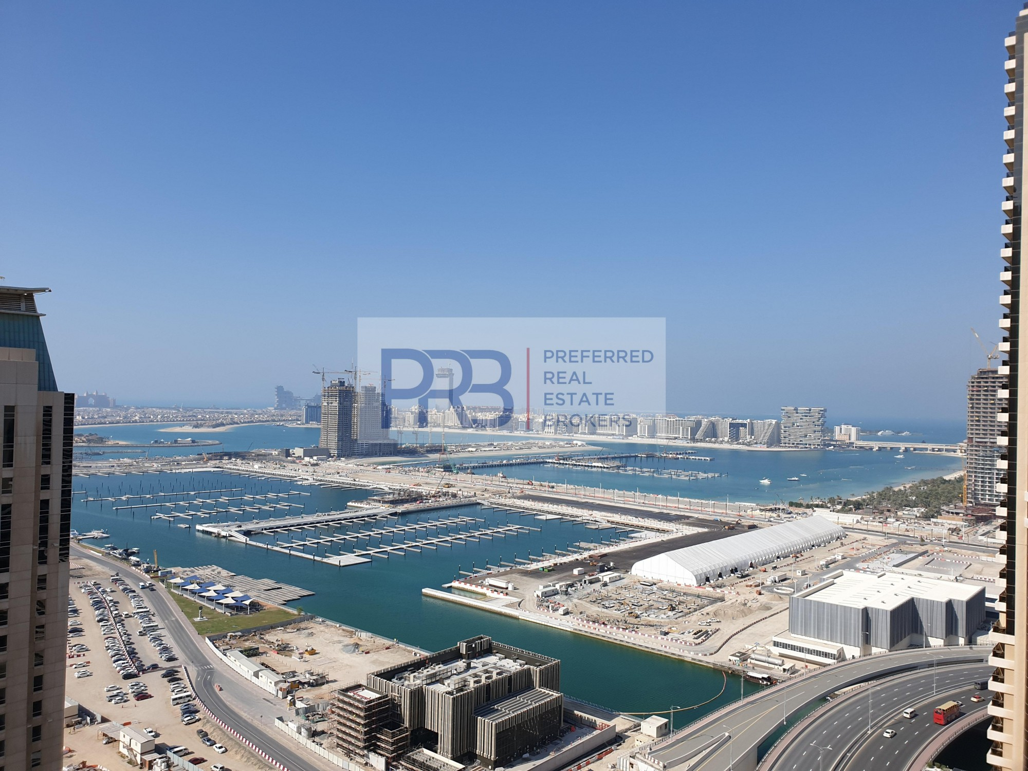 Amazing  Sea View/ , 2 Br in Botanica Tower for Rent