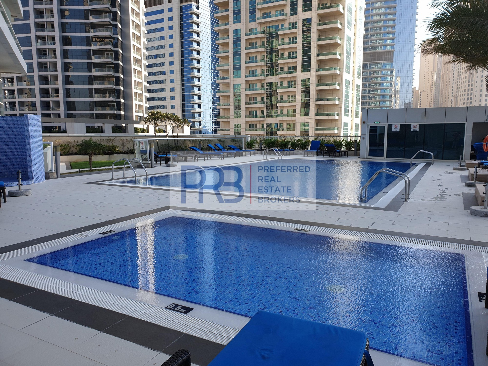 Amazing  Marina View/ , 2 Br in Botanica Tower for Rent