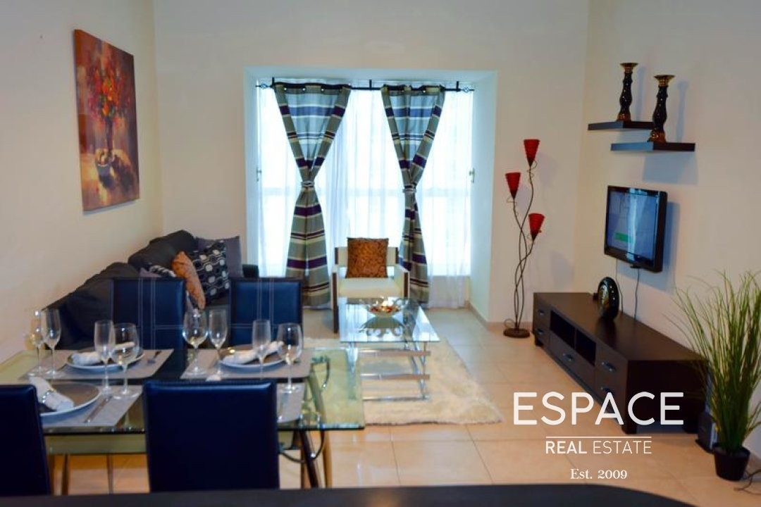 Partial Sea View| Furnished| Tram Station