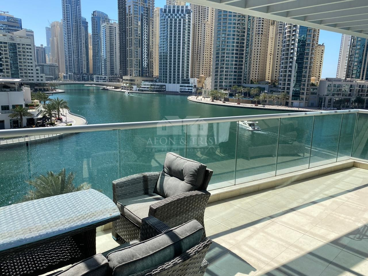 Marina View 2 bed+Maid+Study+Store Terrace Apt