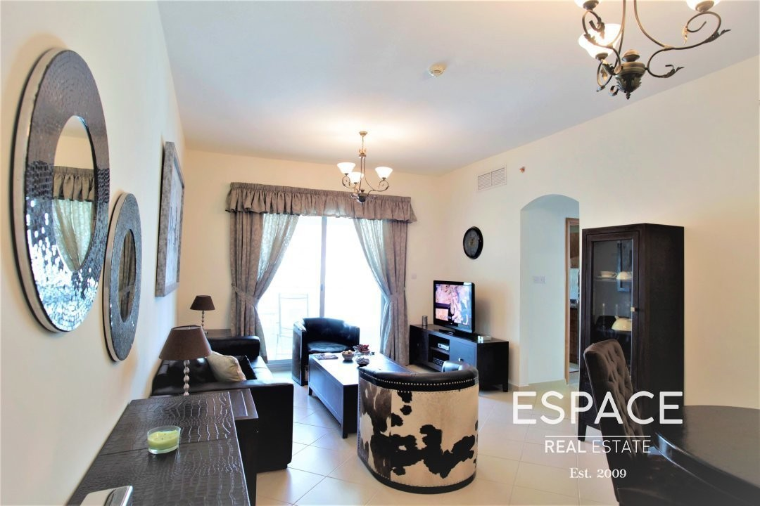 Furnished|Partial Marina View| Near Metro