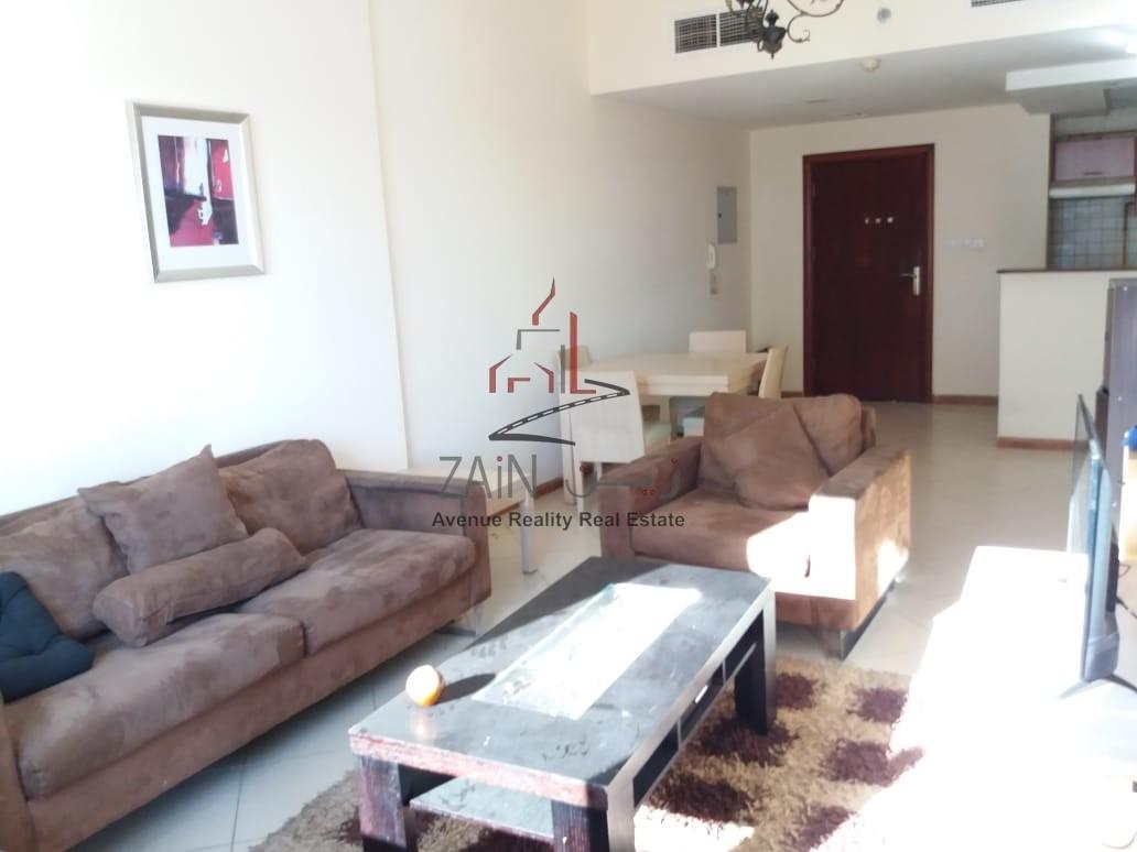 Lovely Furnished 1 BR Apt | Big Balcony  | Higher Floor | DM
