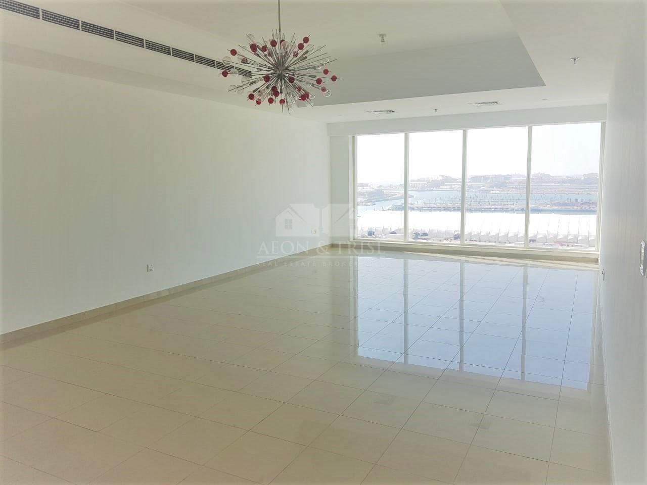 Full Sea/Palm View Large 2 bed+M+L Upgraded