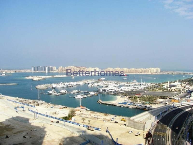 Palm & Sea View | Unfurnished | Spacious