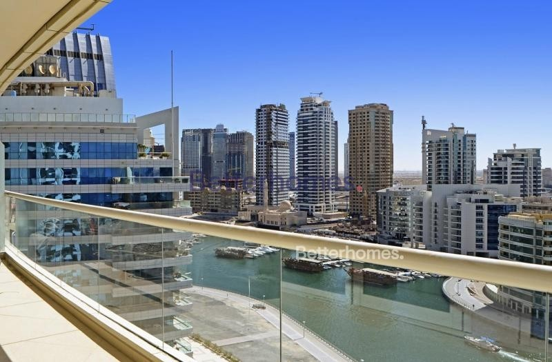 Marina View | High Floor | Unfurnished| Two Parkings