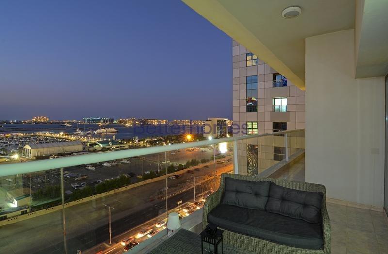Full Sea View|Unfurnished |Balcony